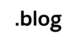 .blog domain logo
